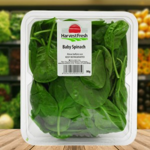 baby spinach tub